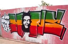 """Mons"" Rasta Graffiti, Rego Station, Lisboa"
