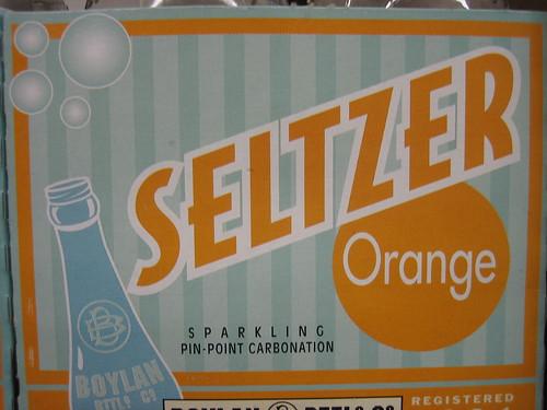 boylan's orange seltzer