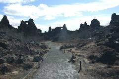 The Devil's Teeth (aosher) Tags: iceland myvatn volcanicrock