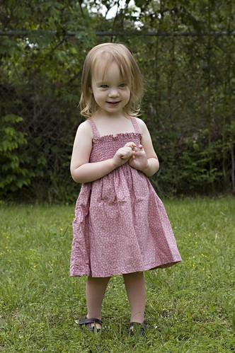 Mama-Made Dress