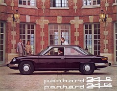 Panhard 24 B & BT (jan 1968) Tags: auto b france cars citroen voiture coche 17 24 brochure bt panhard pl levassor