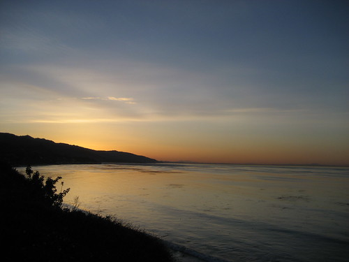 today's dawn in malibu