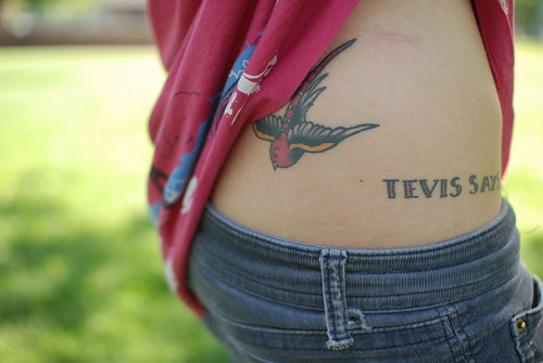 tattoo designs hip bone. What do you think about this tattoo idea? I would like to get a tattoo where this girl's tattoo of the bird is: Falling