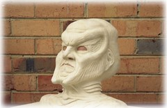 BABYLON FIVE - NARN AMBASSADOR G'KAR, INITIAL SCULPTURE FOR PROSTHETIC MASK - 3/4 PROFILE (zero g) Tags: sf sculpture weird costume mask cosplay alien makeup australia melbourne victoria headshot rob ugly scifi imagination robjan sciencefiction babylonfive b5 unusual popculture zerog prosthetic notrealpeople plasticine beautifulisboring gkar narn lucidmysterious alienartifacts scificatchall weirdbutwonderful fireawayanythingartisticasfastasyoucan internetartistsgallery scorpiozodiacsign starshipoftheimagination wowaddonlypicturescommentedwithawow sificritters melbourneandbeyond belloshittysartcoreexperience alienfacesbodiesartrelatingtoaliens allthingswhite arteyeofthebeholderupload1commenton1 weirdwalkenergeticallyinrubberdungarees grouchosnongrouppleasedonotjoin australia2007daybydayonephotoaday experimentstrytherandomlink 6packphotos zorpkingdomhomeofthezorp anythingeverything71018photos881memberscounting myartsycreations thebiggestgrouphowdidwegetsobig simplybabylon5