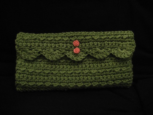 Free Crochet Clutch Pattern : Clutch Free Crochet Pattern from the Purses and bags Free Crochet ...