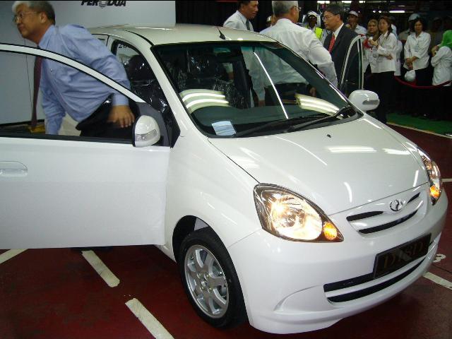 Perodua Viva Spyshot