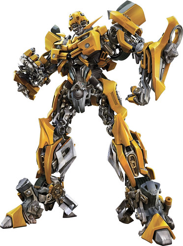 Transformers la pelicula Bumblebee CGI