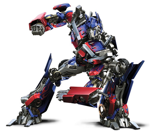 Optimus Prime Transformers la pelicula