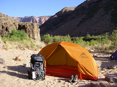 Grand Canyon - Lower Tapeats Campground at the Colorado River