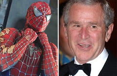 Spider-Man 3 and George W Bush