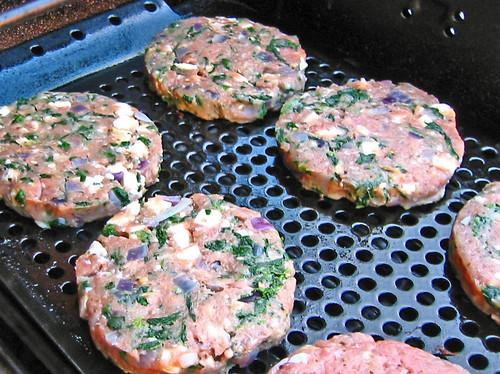 Spanakopita Burgers