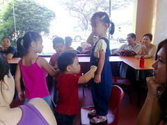Isaac's first MacD's birthday party