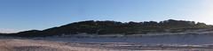 Soldiers Beach Panorama (Quilb) Tags: panorama sand australia soldiersbeach