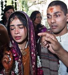 Tears Of Joy (Roy Sinai) Tags: wedding happy bride tears sad emotion ceremony story emotional arora hindu newlywed newdelhi punjabi 2007 pallavi sudeep bengali aryasamaj hinduwedding pswed