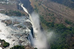 Victoria Falls - Zambia/Zimbabwe (hannes.steyn) Tags: africa mist nature water waterfall rivers zimbabwe gorge victoriafalls zambia zambeziriver 50club hannessteyn