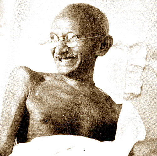 Gandhiji by Shrimaitreya
