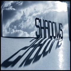Cool Shadows!! (adrians_art) Tags: blue light white black monochrome dark geotagged mono shadows silhouettes abstracts geotags ultimateshot