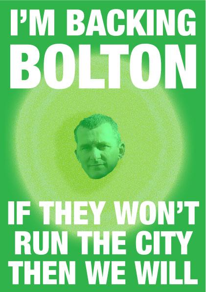 I'm backing Bolton!