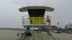 Ocean Beach (S hiGs DiFerNTy) Tags: digital sandiego oceanbeach lifeguardtower gokatpix