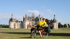 Chambord castle in France (beginning of the tour)