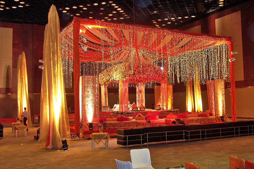 Indian Wedding Mandap Decoration Living Room Design