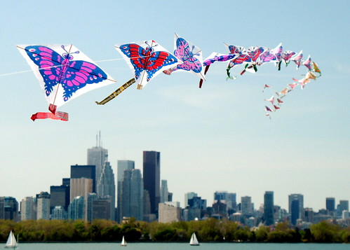 Kites Over the City