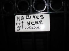 I Like Bikes, But...