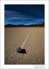 Moving Rock, Moonlight, Racetrack Playa. Death Valley National Park (G Dan Mitchell) Tags: california nightphotography stars nationalpark timeexposure travelphotography landscapephotography colorphotograph flickrdiamond induro movingrockracetrackplayamoonlightdeathvalley gdanmitchell
