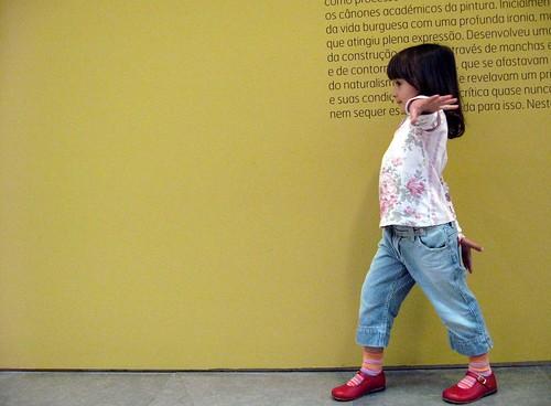 no museu