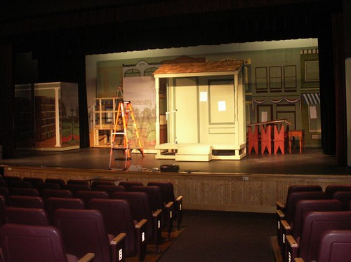 "Staging for ""The Music Man,"" 1"