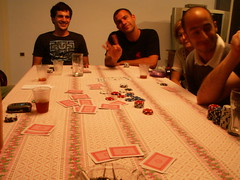 Dwags Playing Poker