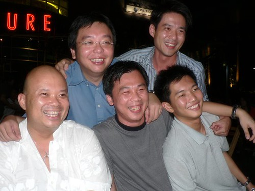 Nigel, Chee How, Unkaleong, Mervyn and Robert