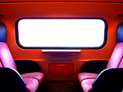 - space flight - (idogu) Tags: pink red holland window netherlands colors dutch amazing rotterdam sony may railway seats visiting amateur 2007 spoorwegen nederlandse p200 xxxxxxxx colorphotoaward amazingamateur familyin