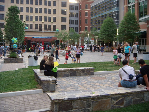 Rockville Town Square, Saturday Evening