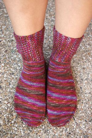 Rock and Weave socks