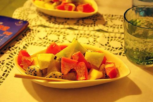 IMGP9145_套餐之水果沙拉