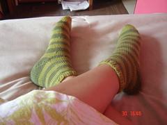 Mis nuevos calcetines
