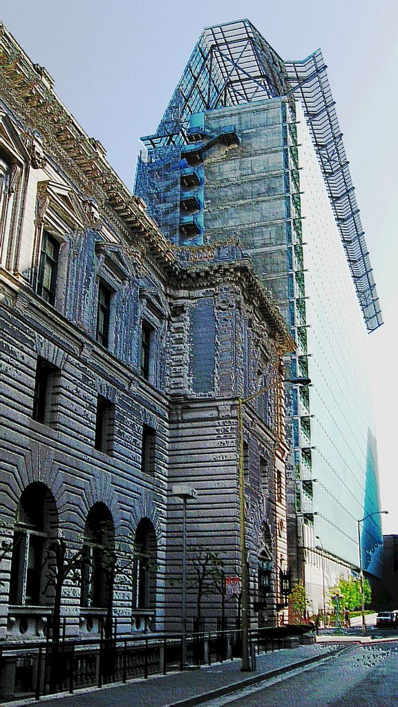 9th Circuit Court of Appeals & San Francisco Federal Building - Old & New