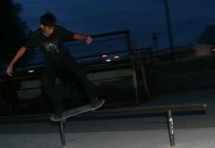 kndll01 (jaarockin) Tags: blue shadow black evening nativeamerican cousin navajo sk8 skateboarder feeble