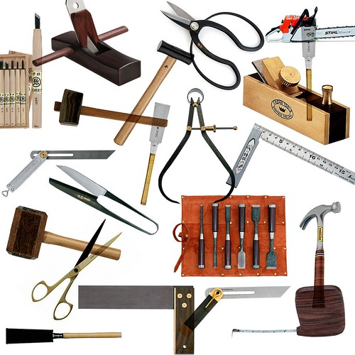 Craftsmanship requires tools
