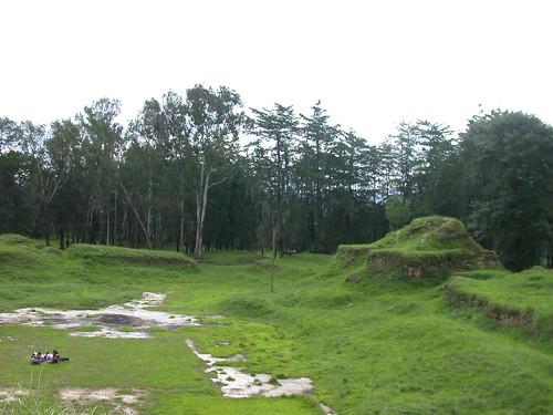 Ruins in Santa Cruz del Quiche