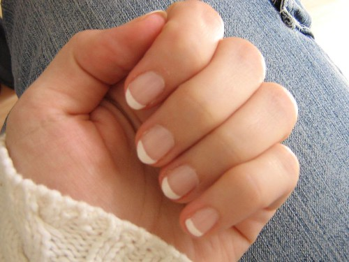 French Nails by nightrose.
