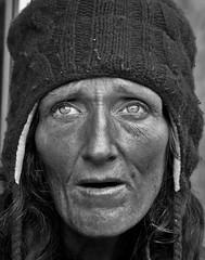 faith & grace (stoneth) Tags: poverty sf sanfrancisco california ca street portrait people blackandwhite bw 15fav woman white black eye topf25 beautiful face topv111 closeup female 1025fav 510fav top20favorites blackwhite eyes topf50 topv555 topv333 nikon bravo day d70 nikond70 topv1111 homeless topv999 poor photojournalism forsakenpeople social impoverished 2006 100v10f 1870mmf3545g human 2550fav 500v50f topv777 grayscale outcaste nikkor 110fav destitute streetshot 125fav 222v2f mes022006 sfhayes