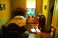 The Bedroom (nomm de photo) Tags: bedroom photoshopped digitalpainting digitallyaltered reinnomm pictorialism neopictorialism paintedphotographs
