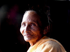 Inle Lake Grandmother (Sam's Exotic Travels) Tags: people lake sam faces state grandmother no burma myanmar inle shan sams limits travelphotos angkorsingle samsays samsexotictravelphotos exotictravelphotos samsayscom