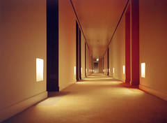 St Martins Lane Hotel (bentilden) Tags: england color london film topv111 hotel interior hallway ianschrager saintmartinslane phillippestarck morganshotelgroup