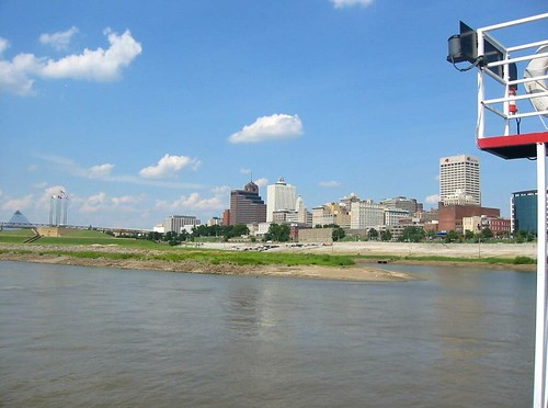 Memphis Skyline, River Cruise, Memphis Tennessee