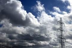 High Voltage (cuellar) Tags: blue sky 15fav clouds nikond70 cuellar