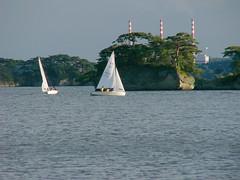 dinghy (sekkun_jp) Tags: japan yacht matsushima miyagi dinghy