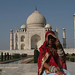 Taj & Village Woman
